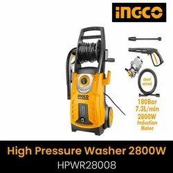INGCO HIGH PRESSURE WASHER MODEL NAME HPWR-28008