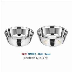 Stainless Steel Matrix Bowl Set