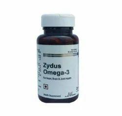 Zydus Omega-3 Health Supplement, 60 Capsule