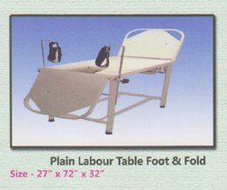 LABOUR TABLE FOOT & FOLD