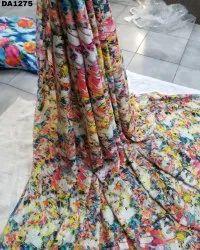 Fantastic Diamond Silk Digital Print Fabric