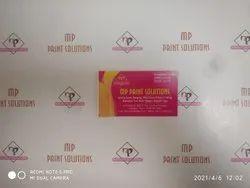 Rectangular MultiColor Business Card