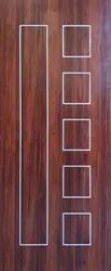 Laminated Solidus Laminate Grove Doors, For Home