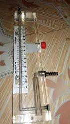 Acrylic Single Limb Manometer