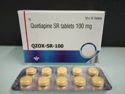 Quetipine SR Tablets 100 mg.