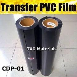 P.V.C Black Heat Transfer Vinyle