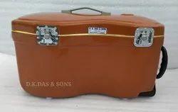 Brown Hard Fiber Glass Tabla Baya Case