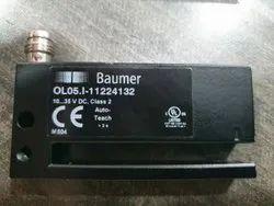 Baumer OL05.I-GP1B.7WN Non-Transparent Label Gap Sensor