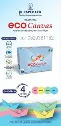 Color Paper Sheet A4 JK Ecocanvas 75 GSM Authorized Partner, Roughness: Smooth