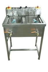 Twin Tank Electric Fryer