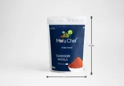 Motu Chef Home Made Tandoori Masala, Packaging Size: 50 G, Packaging Type: Pouch