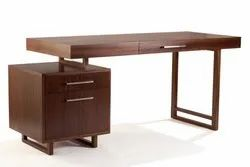 Brown Wooden Office Furniture, Size: 2.5*5(h, W) Feet