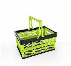 Stackable Storage Container Foldable Basket Storage Basket