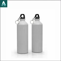 Appareltech Aluminium 750ml Sublimation Sipper Bottle, For Gym, Cylendrical