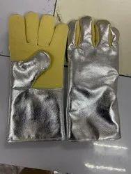 Aluminized Kevlar Heat Resistant Gloves