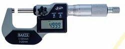 Baker Digital External Outside Micrometer