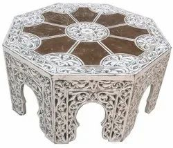 Wooden Hand Carved Table