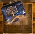 Irya Lifestyle Printed Fabric Clutch