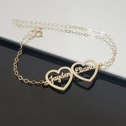 Personalized Hearts Bracelet With Names
