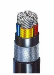 4 Core 4 sqmm Polycab Submersible Cable, 90m