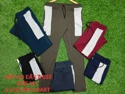 Brown Casual Wear Mens Imported 4 Way Lycra Trackpant, Size: Medium,large