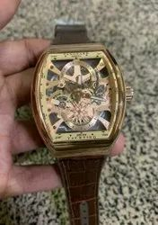 Round Formal Watches France Muller Watch For Men