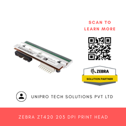Zebra ZT420 203 DPI Print Head