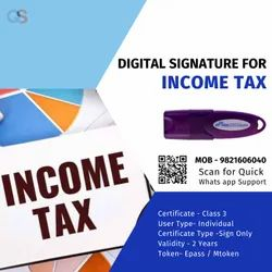 CA Digital Signature For Income Tax, in Pan India, Company