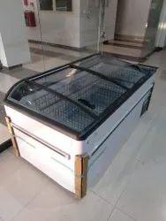 Commercial Island Display Freezer