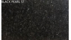 Black Pearl ST Polished Granite Slab, Thickness: 18 mm