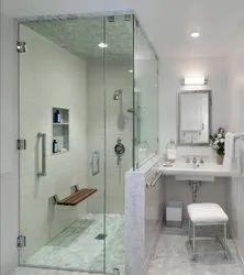 Bathroom Shower Glass Partition