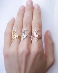 Mothers Day Gifts Name Ring
