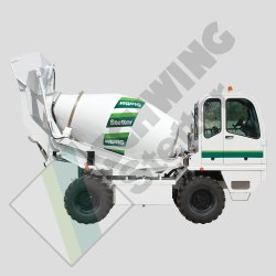 Schwing Stetter SLM 2200 Self Loading Mixer, Drum Capacity: 2.2 m cube