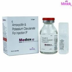 Amoxycillin and Potassium Clavulanate for Injection IP