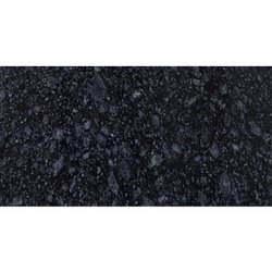 Polished Majestic Black Granite, Slab, Thickness: 15 mm