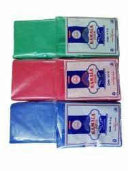 D切割普通塑料携带袋,保持容量:1千克,袋尺寸:13x16英寸