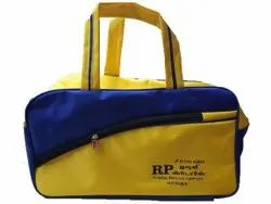 Polyester Yellow and Blue Travel Luggage Bag, Size/Dimension: 21 X 10 X 6 Inch
