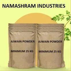 Namashram Industries Spicy Ajwain Powder, Packaging Size: 25 Kg Bag