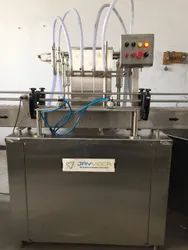 Automatic Floor Cleaner Bottle Filling Machine