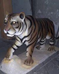 FRP Tiger Animal Statue