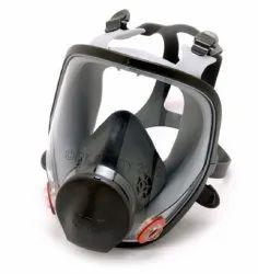 3M 6800 Full Face Respirator Face Mask, Acid Gas