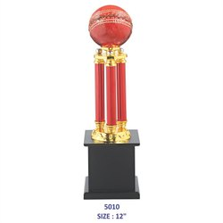 Cricket Ball Metal Trophy