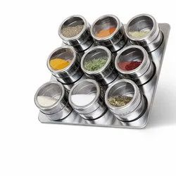 Stainless Steel Magnetic Spice Jar