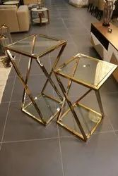 Rose Gold Side Table