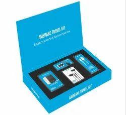 Ambrane Travel Kit ATK-02 (Blue)