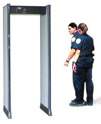 Single Zone Walk Through Metal Detectors Safegate-I