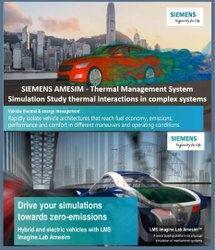 Siemens Simcenter Amesim -  Thermal  System Simulation Software