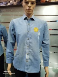 Denium Waiter Shirt  U-83