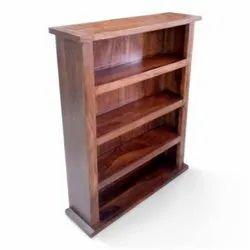 Satyam International Brown Wooden Shelves Rack, 3