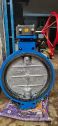 Ci Butterfly Valve Gear Operated